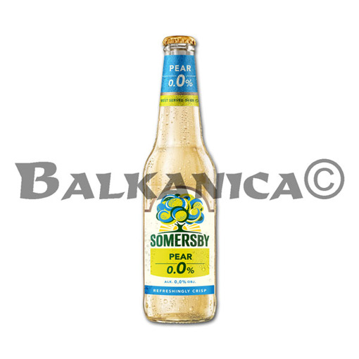 0.4 L CERVEZA BOTELLA SABOR PERA SOMERSBY 0.0%
