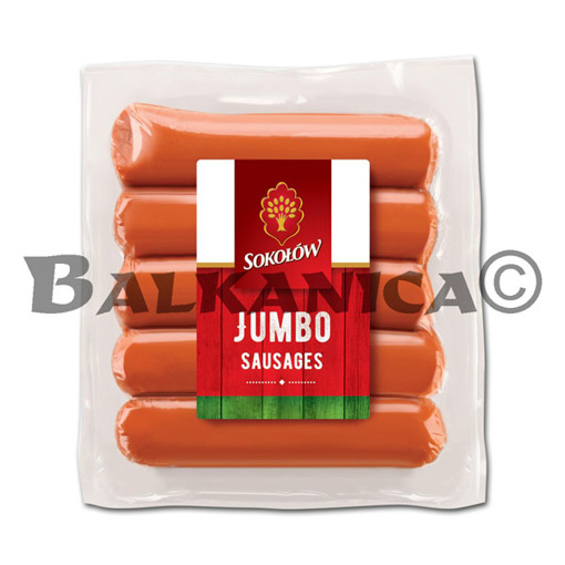 500 G SALCHICHAS CON POLLO JUMBO SOKOLOW