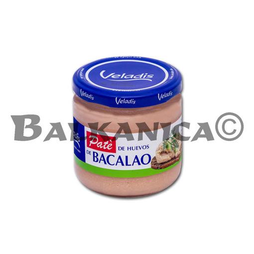 195 G PATE DE HUEVAS DE BACALAO VELADIS